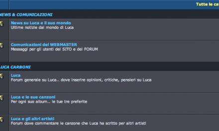 C'era una volta il forum…