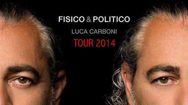 Fisico & Politico Tour: le prime date del tour estivo di Luca Carboni