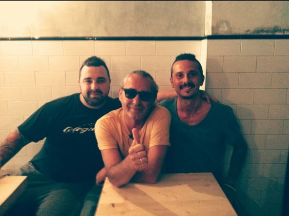 cover del nuovo album di Luca carboni firmata dagli Stylaz