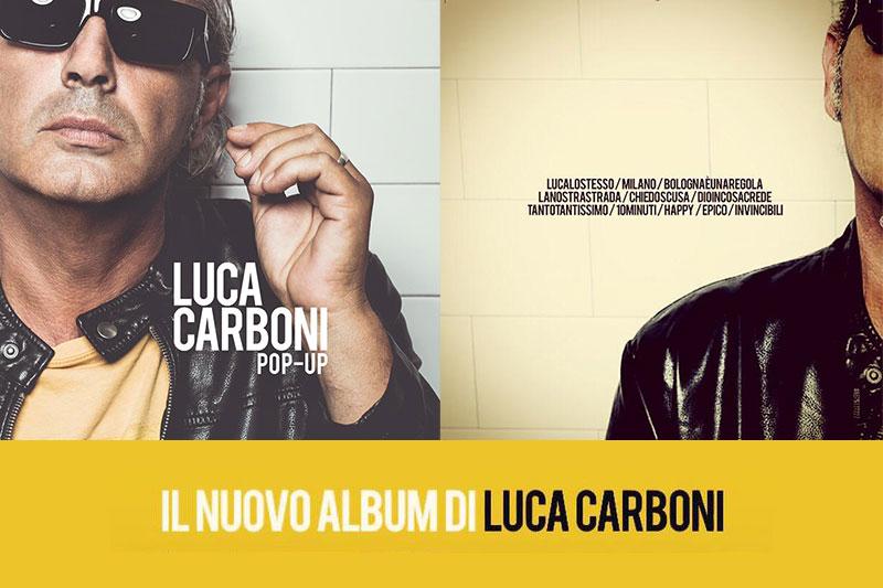 pop-up nuovo album di Luca Carboni