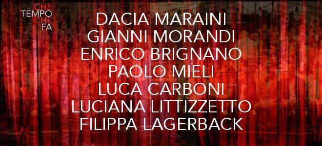 Luca Carboni ospite a Che tempo che fa