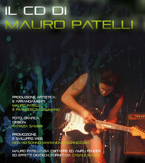 Mauro Patelli, cd solista