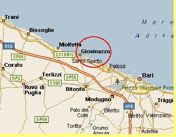 Cartina Puglia Molfetta.Occidente Oriente Accampamento Giovinazzo