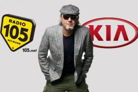 Luca Carboni a Limone Piemonte, Kia Tour Radio 105
