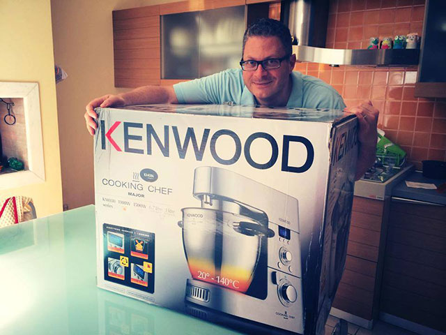 Oggi Cucina Mirco Kenwood Cooking Chef