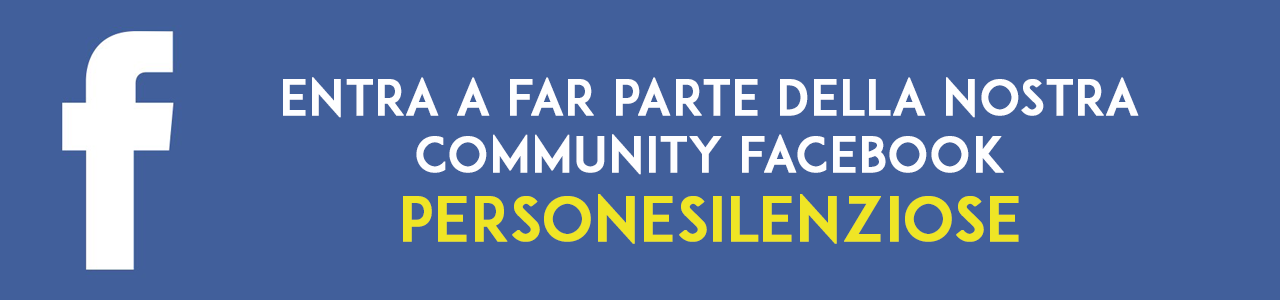 personesilenziose community facebook