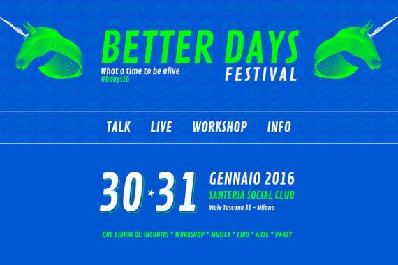luca carboni better days festival