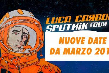sputnik tour 2019 luca carboni