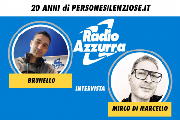 personesilenziose.it su radio azzurra